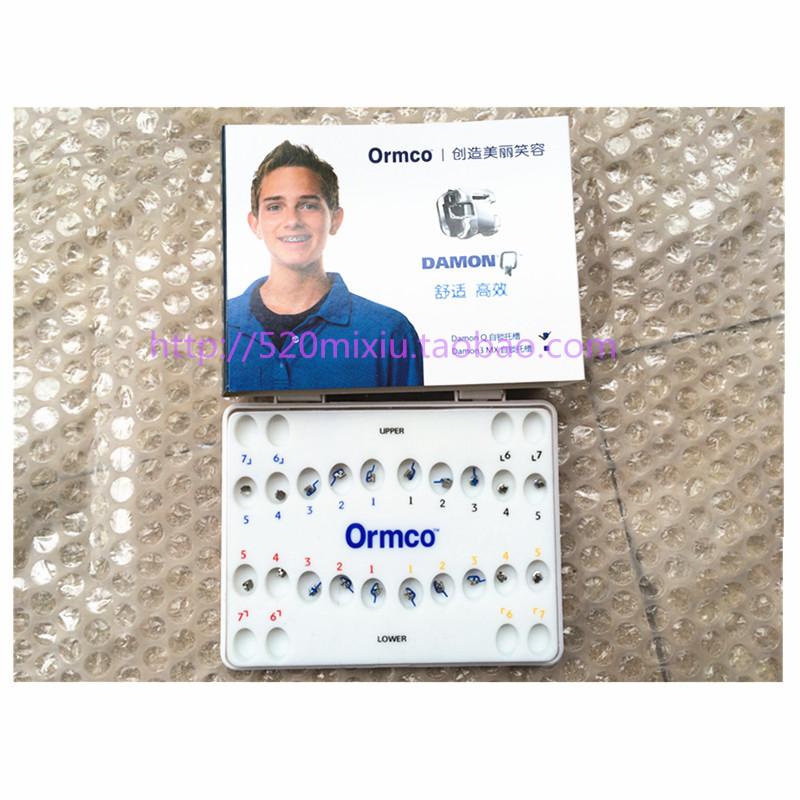 奥美科DAMON Q金属自锁托槽5-5 <br&gt 全新  价格:2100 <br> <img src=http://p.kqzp.cn/img/up/img/201421717557.jpg width=150 &gt