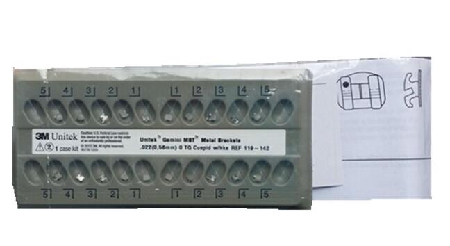 3M UNITEK Gemini MBTTM金属网底托槽 <br&gt 全新  价格:面议 <br> <img src=http://p.kqzp.cn/img/up/img/54322768ddb43.jpg width=150 &gt